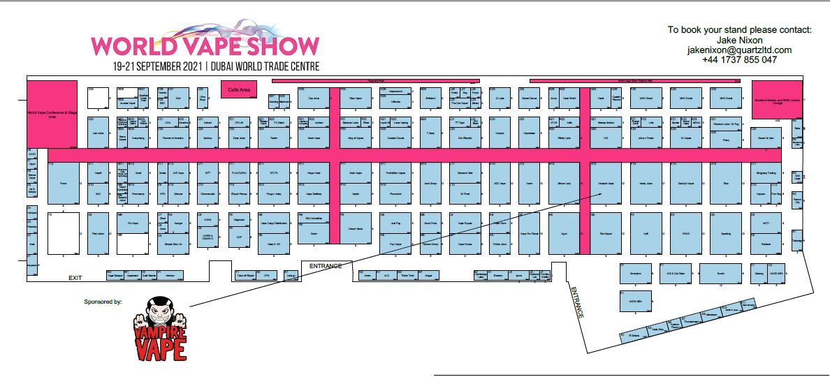 WVS Dubai 2021 - Floorplan as at 29.04.21